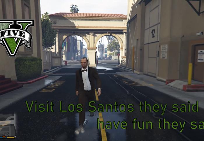 [GTA V] Visit Los Santos – have Fun