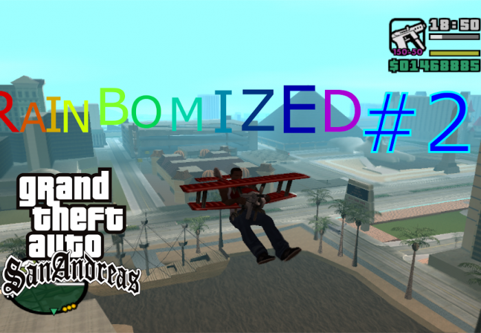 GTA San Andreas Rainbomized #2: A visit in Liberty City