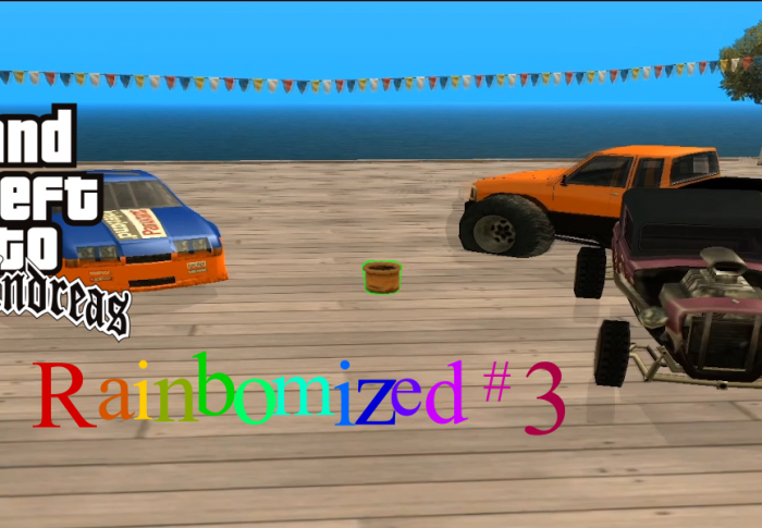 GTA:SA rainbomized – (Flower)Pot-Race
