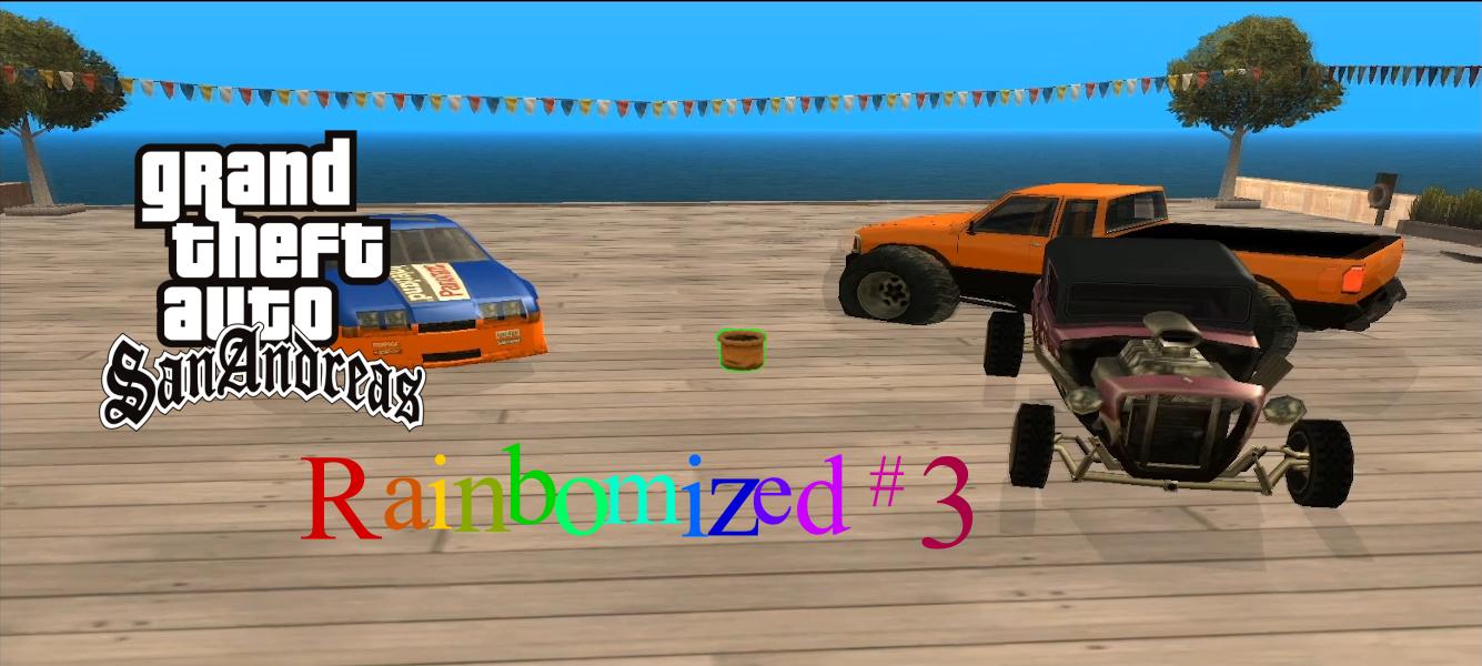 GTA:SA rainbomized – (Flower)Pot-Race