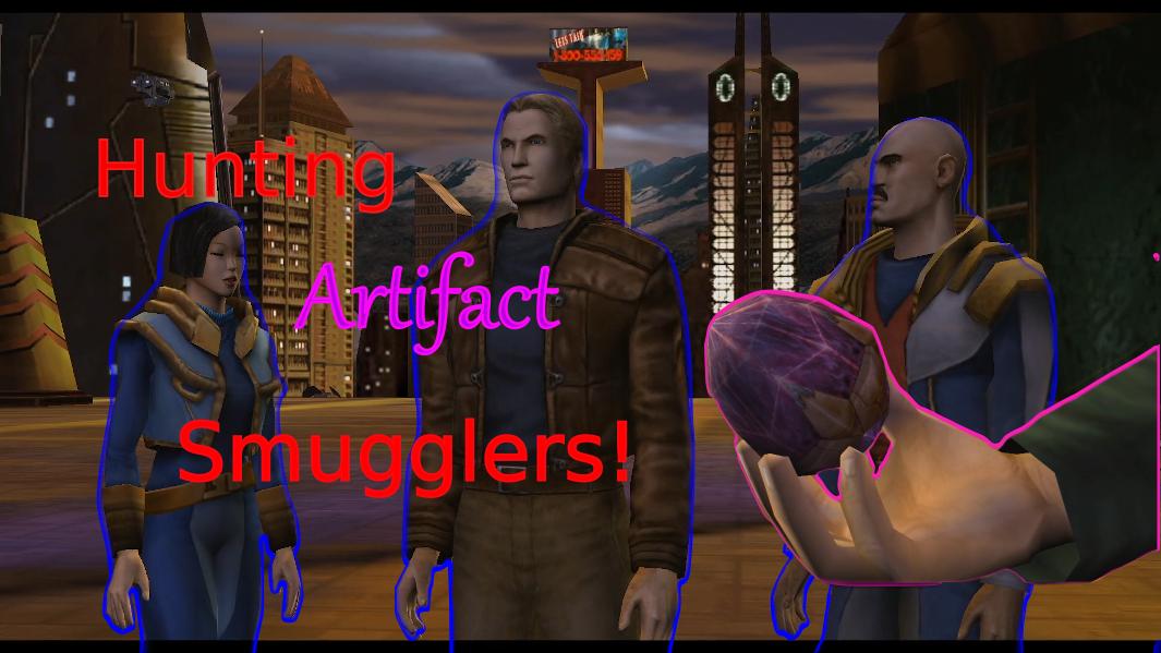 Freelancer E03: Hunting Artifact Smugglers