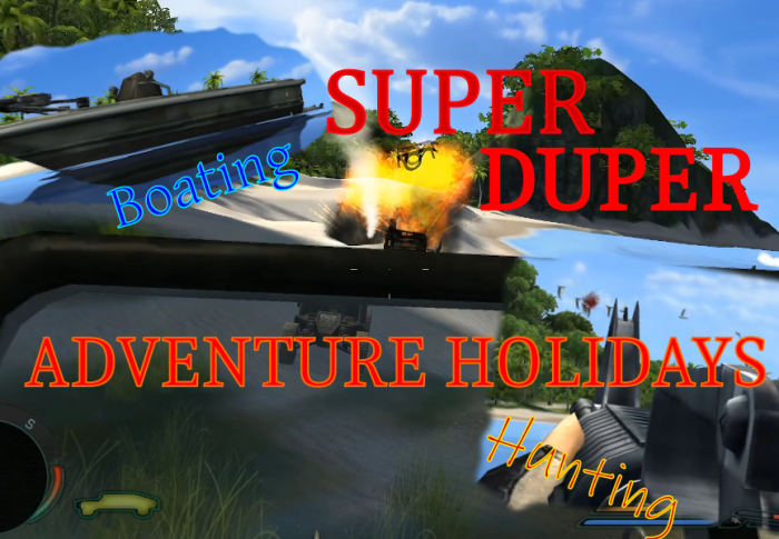 SUPER DUPER ADVENTURE HOLIDAY –  let's play Far Cry