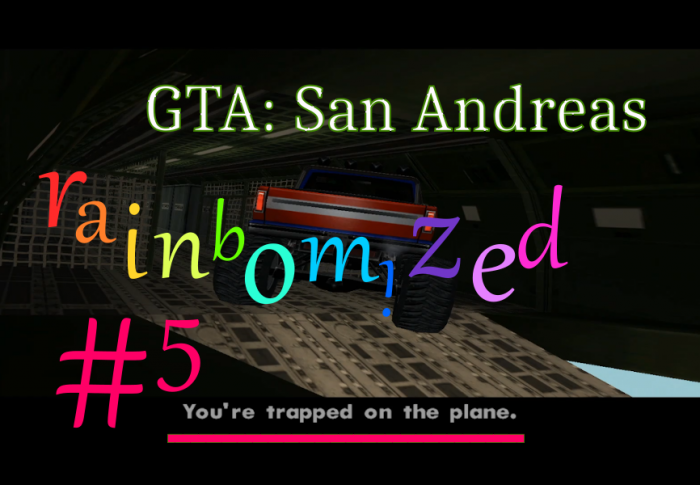 GTA:SA rainbomized Let's play #5