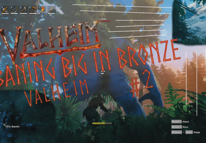 Banging Big in Bronze: Valheim Gameplay #2